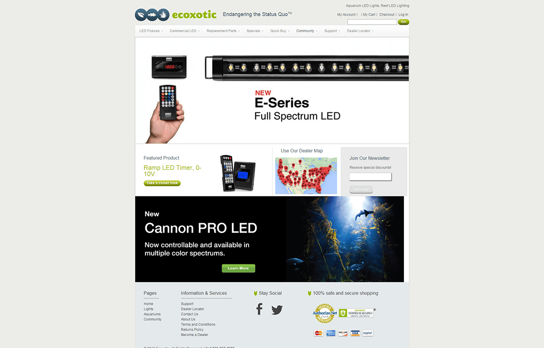 ecoxotic magento project