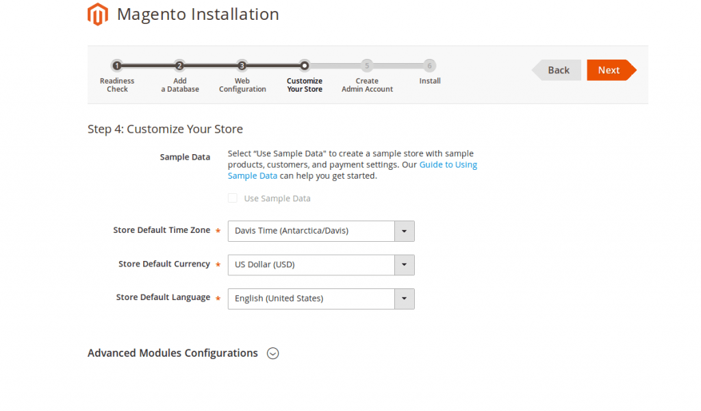 install-magento-2-customize