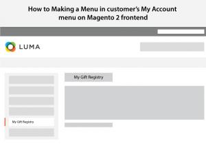 magento 2 menu guide