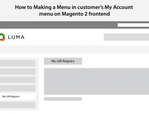 How to Making a Menu in My Account menu on Magento 2 frontend?