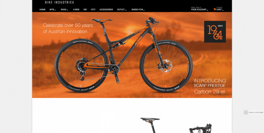 ktm bike industries project