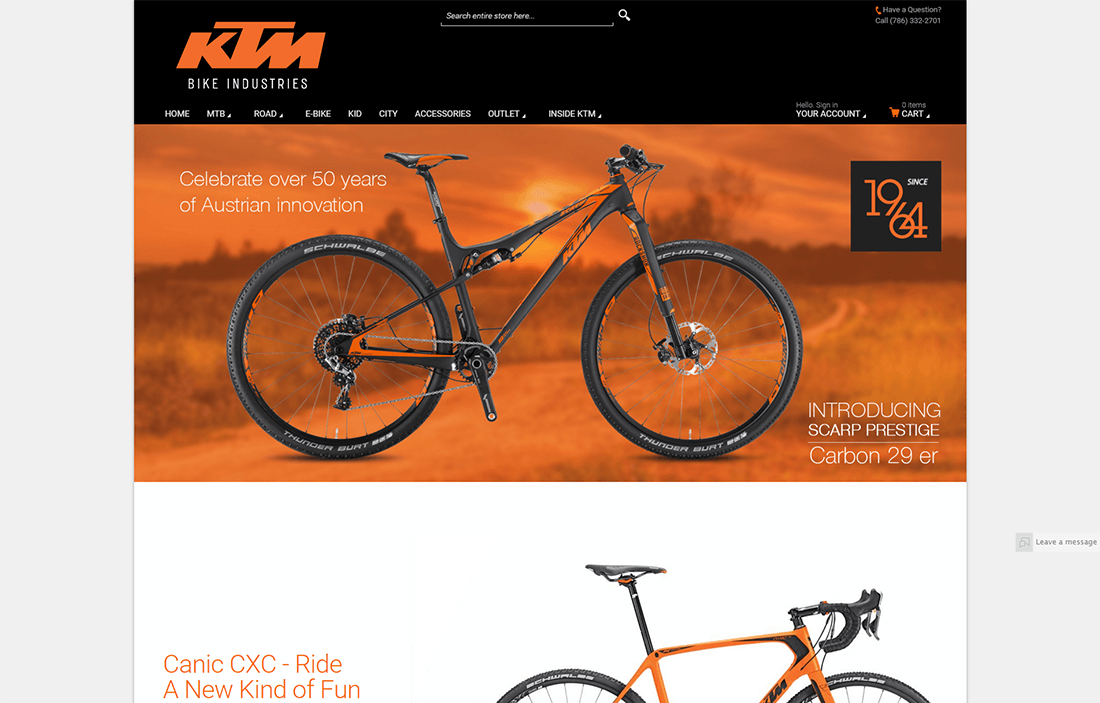 ktm bike industries project