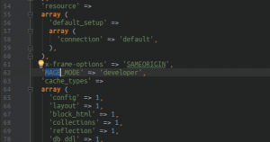 Magento Mode value in app/etc/env.php