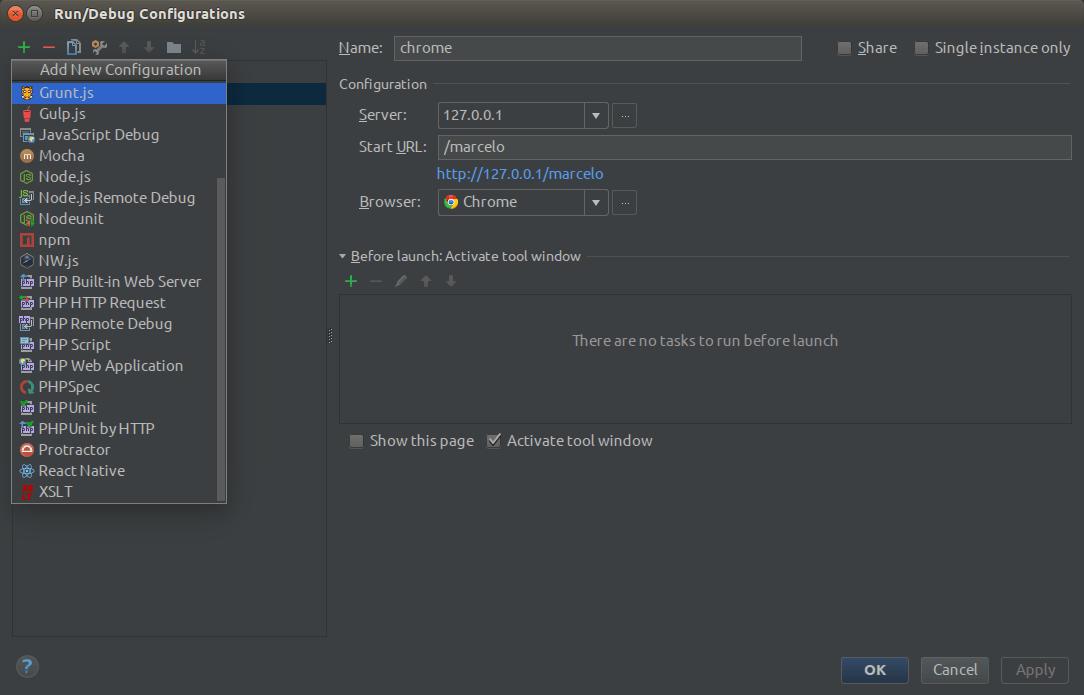 Setup Magento Application that you want to debug