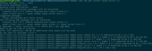how to install Magento 2 running on Zend Server on Ubuntu mysql