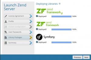 how to install Magento 2 running on Zend Server on Ubuntu zend sever
