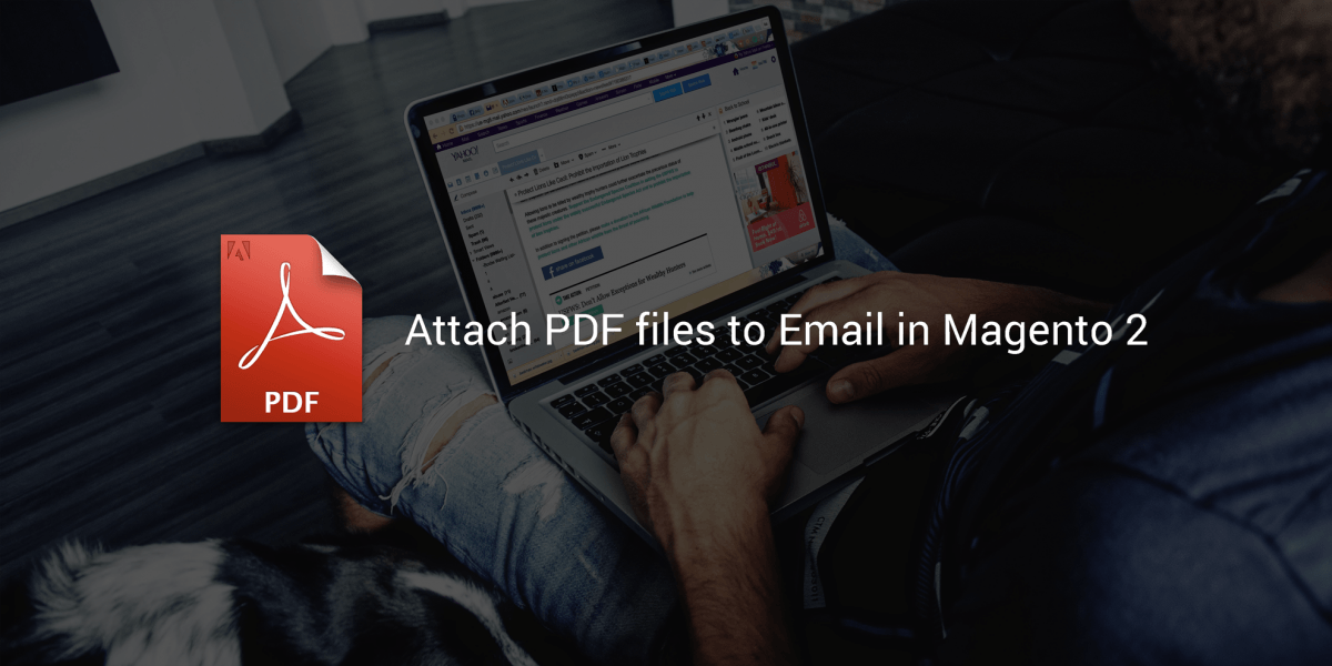 Magento 2 PDF email