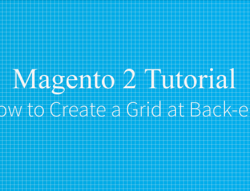 How to create a grid in back-end Magento 2