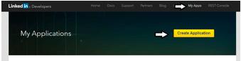 Configure Linkedin API in Magento 2 -create App
