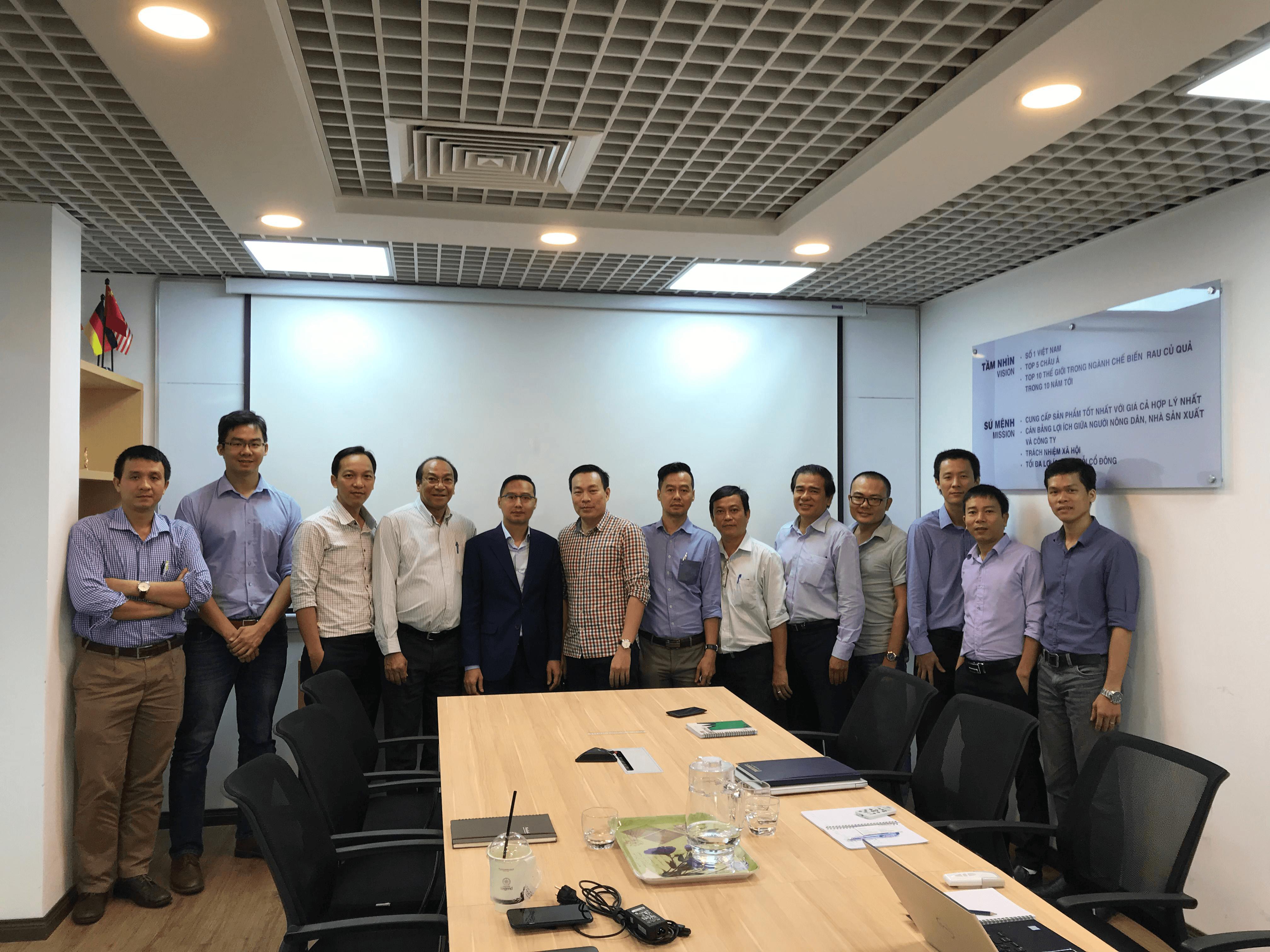 Lễ khởi động dự án triển khai eCommerce tại trụ sở Lavifood tại TP HCM