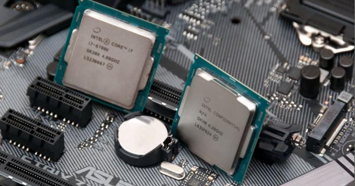 CPU trong máy chủ vật lý