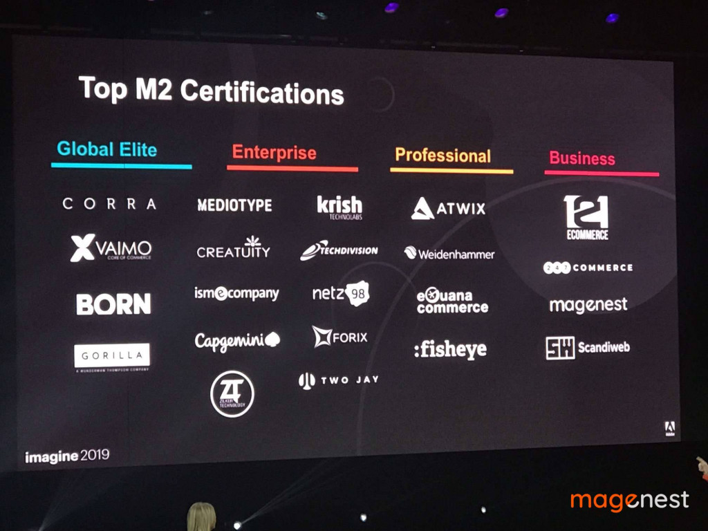 Sự kiện Magento Imagine 2019: Magenest nhận giải thưởng
