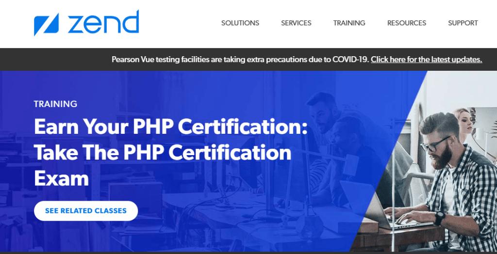 Chứng chỉ PHP