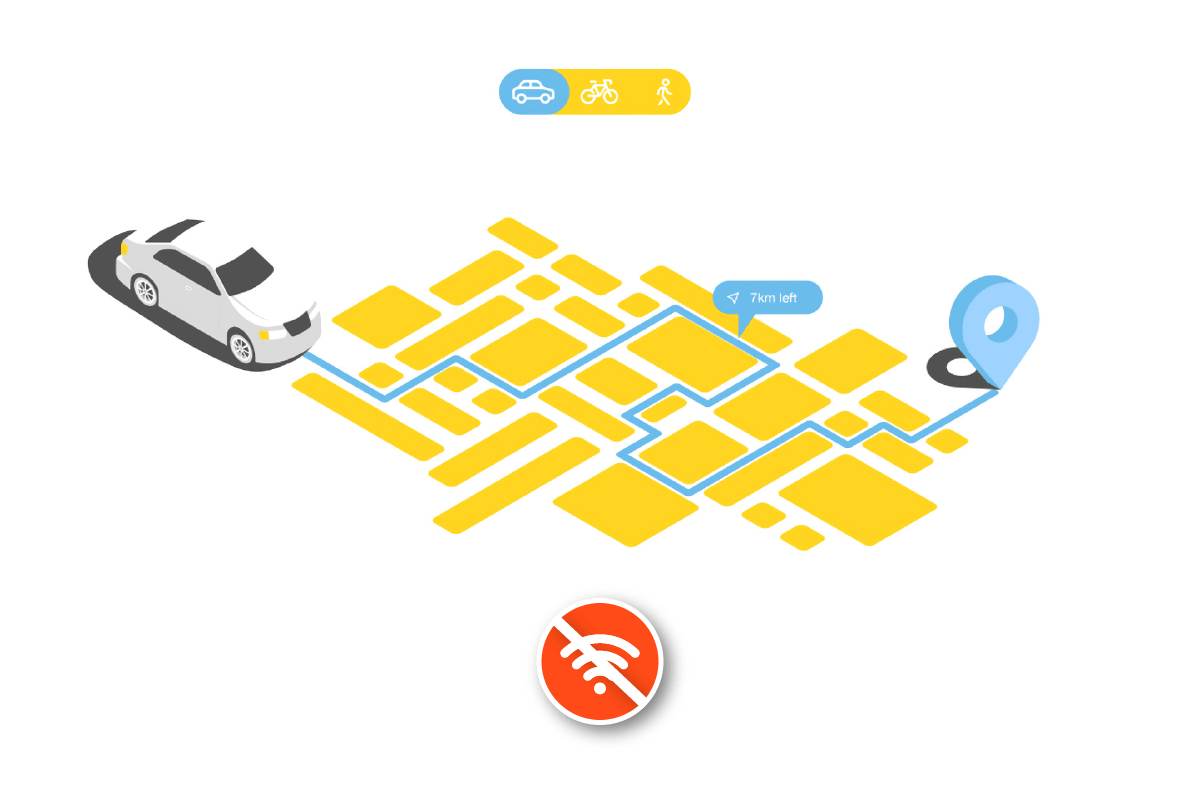 Ứng dụng bản đồ không cần mạng
