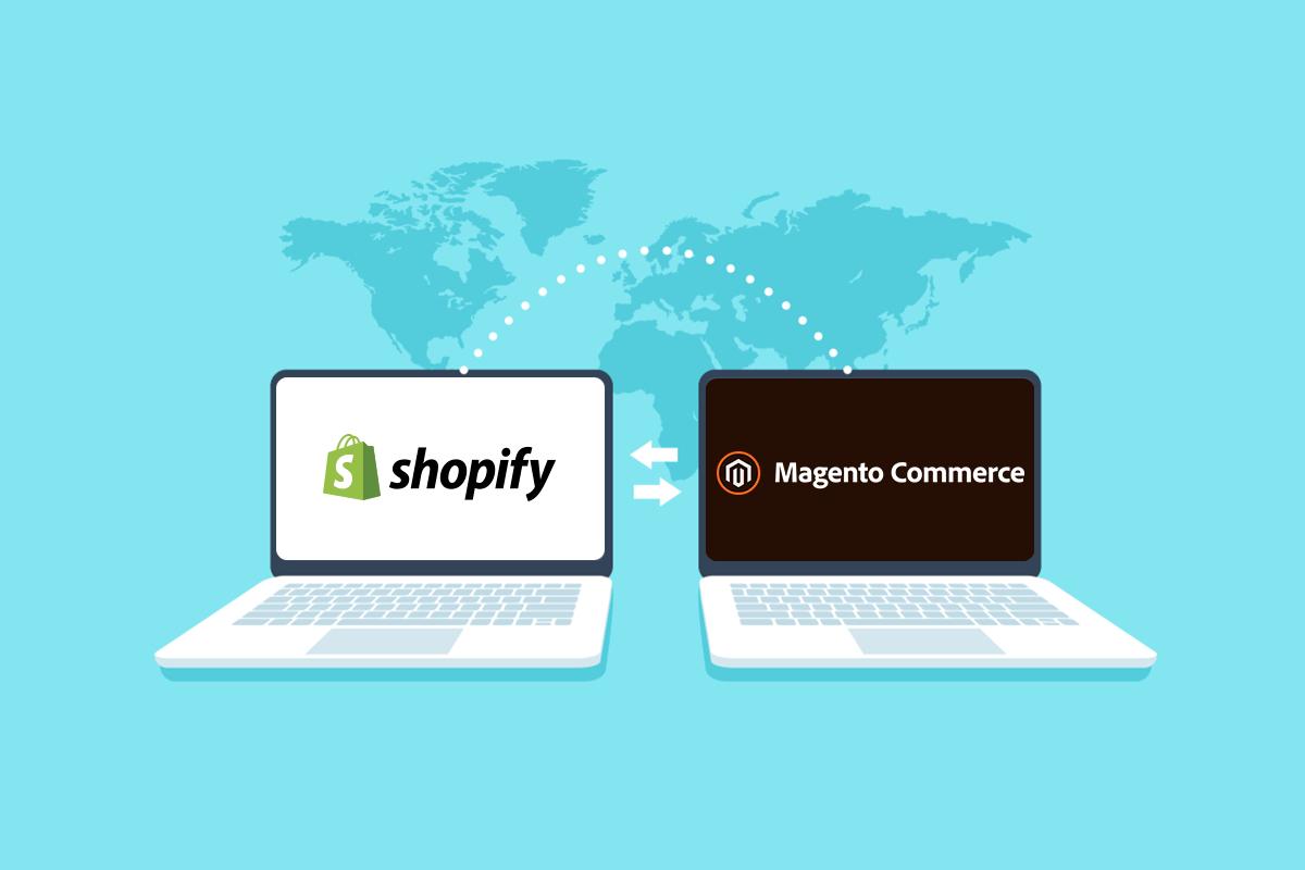 Shopify to magento 2