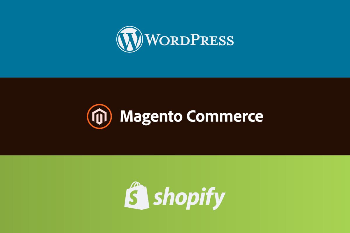 So sánh magento wordpress shopify