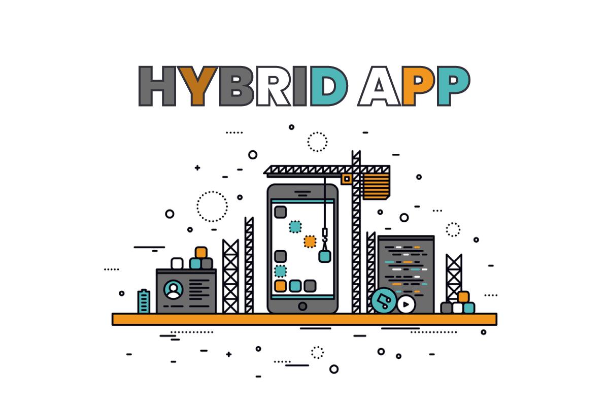Hybrid app builder