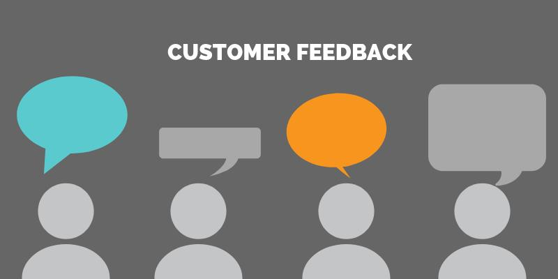 Thu thập phản hồi của khách hàng