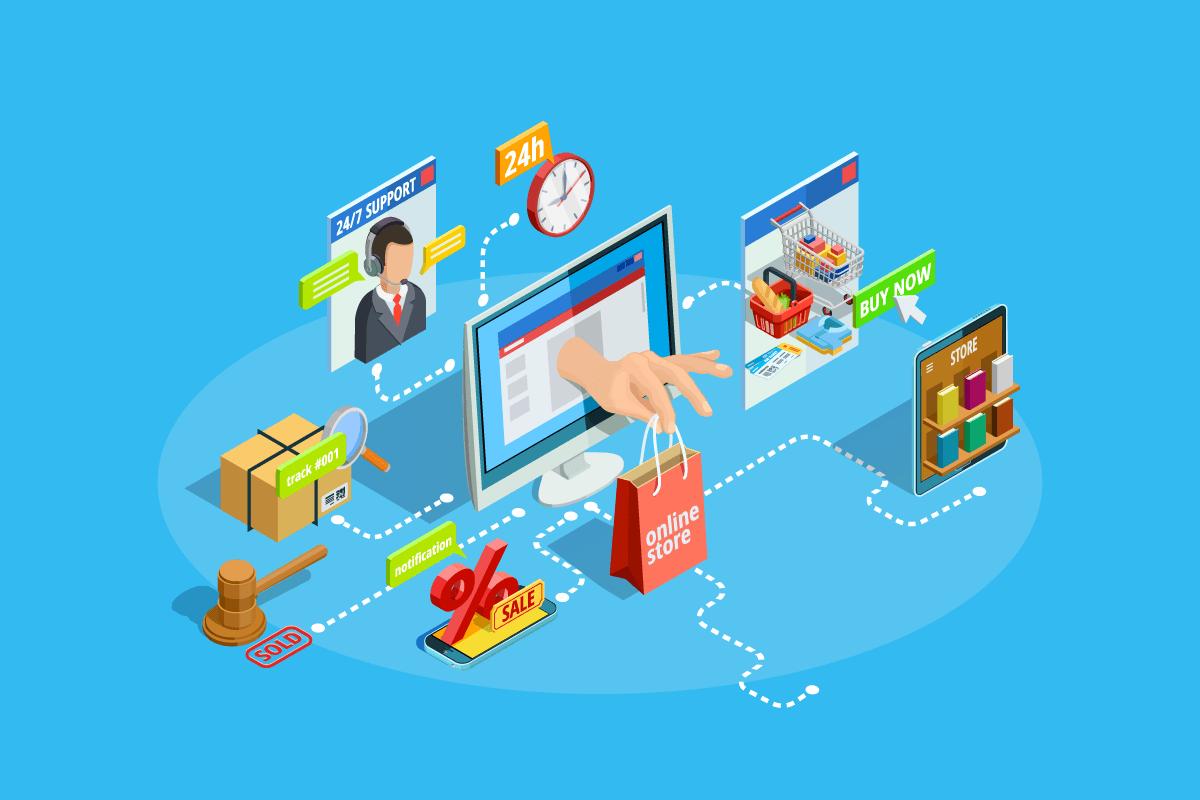 ecommerce website types