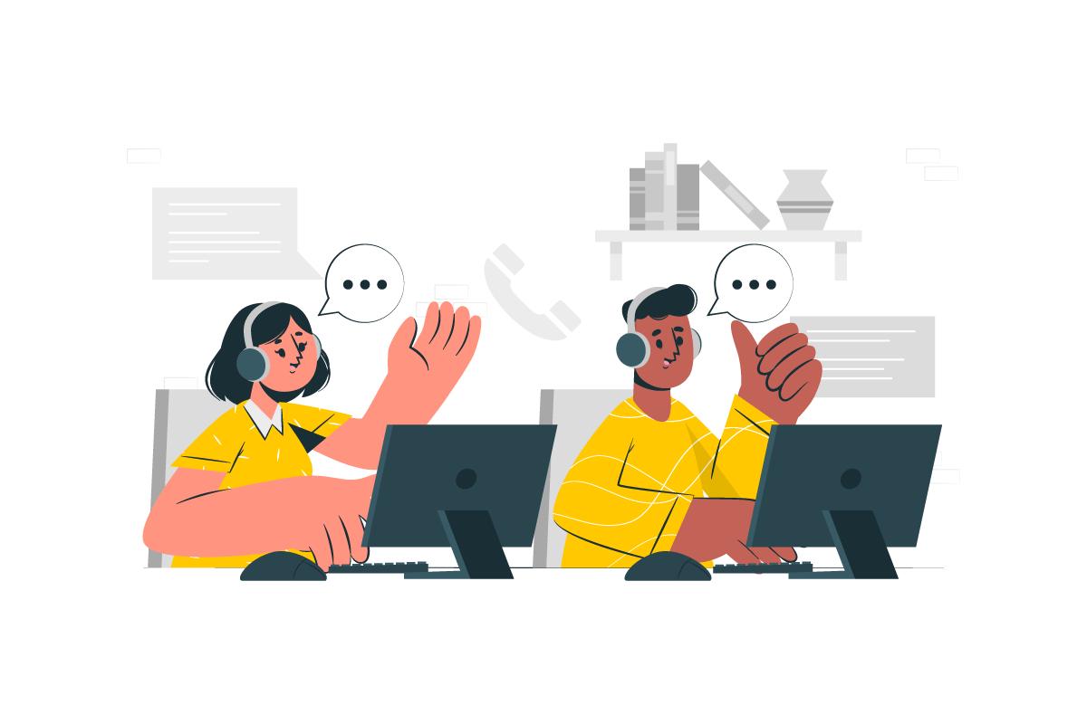 giao tiếp với khách hàng