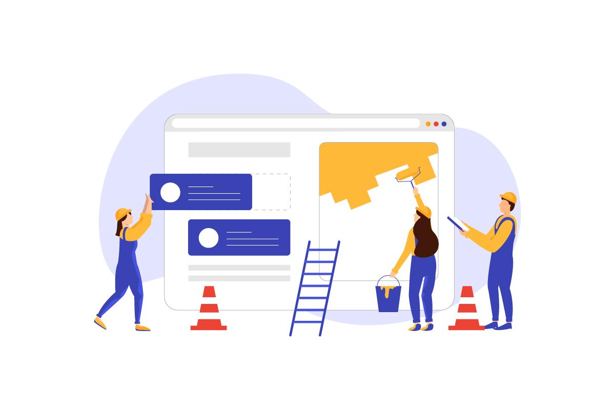 website maintenance plan