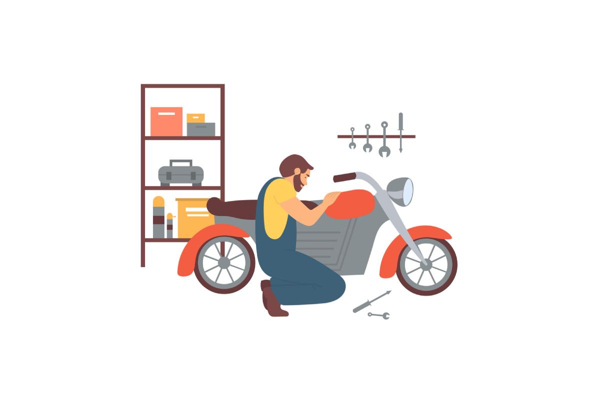 kinh doanh phụ tùng xe máy