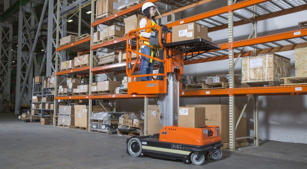 Using machines in warehouse