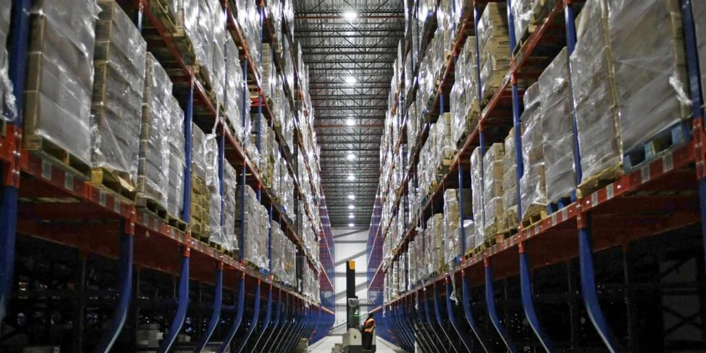 Types of cold storage warehouse