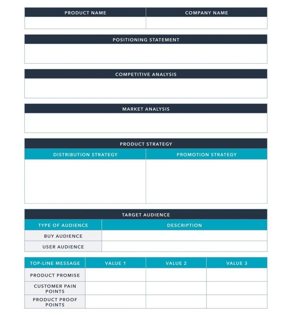 Email marketing plan format