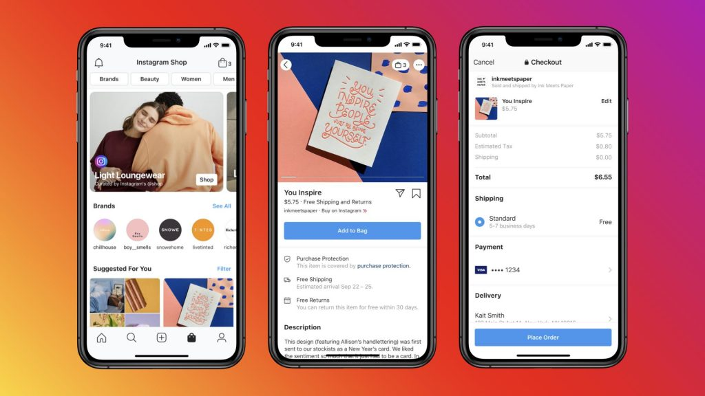 Launch a Facebook store