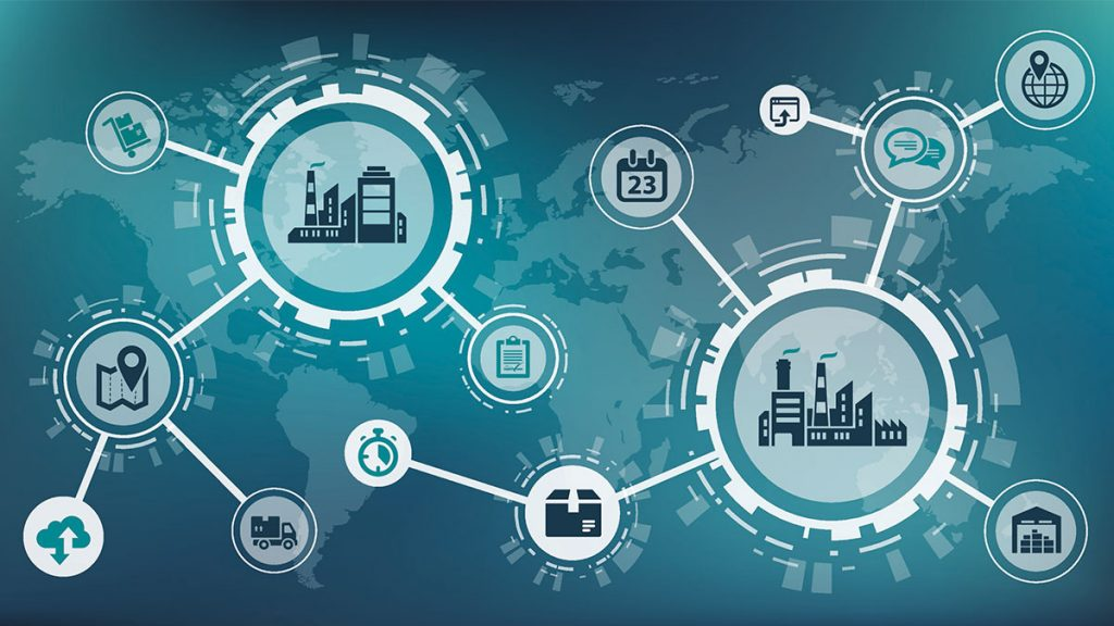 Order fulfillment process supply chain management