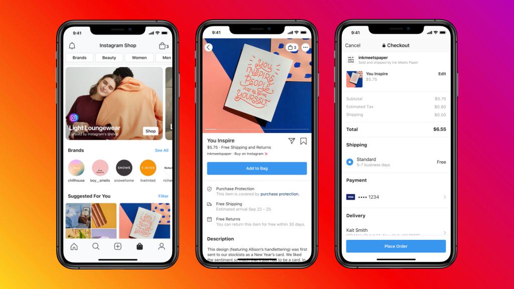Social Commerce platforms: Instagram