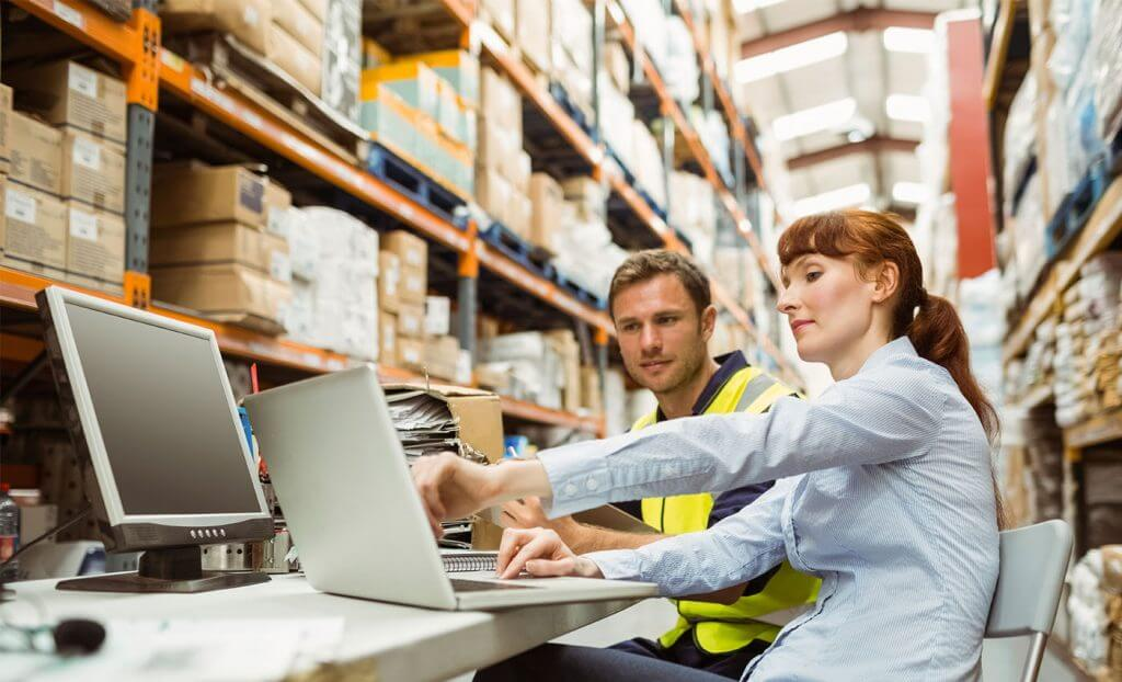 What is warehousing software