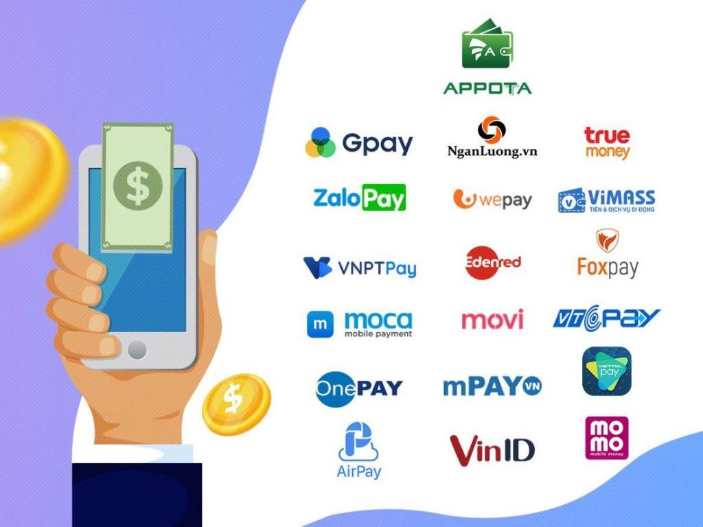 Thanh toán trực tuyến (qua thẻ, ví điện tử)