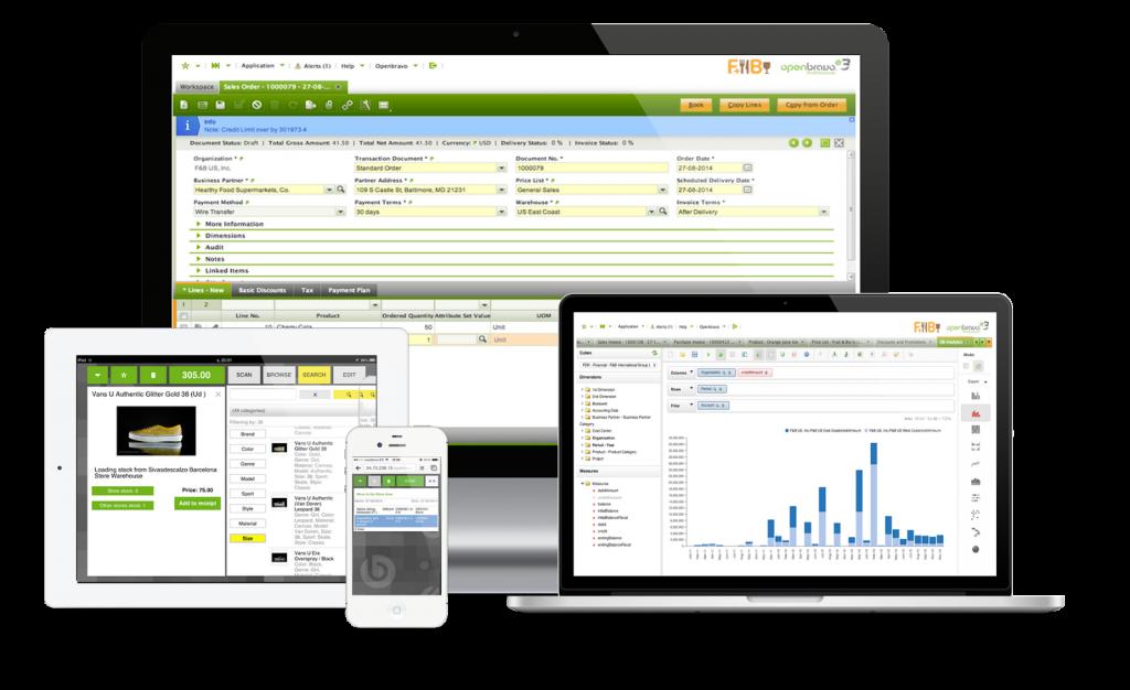 Openbravo ERP software