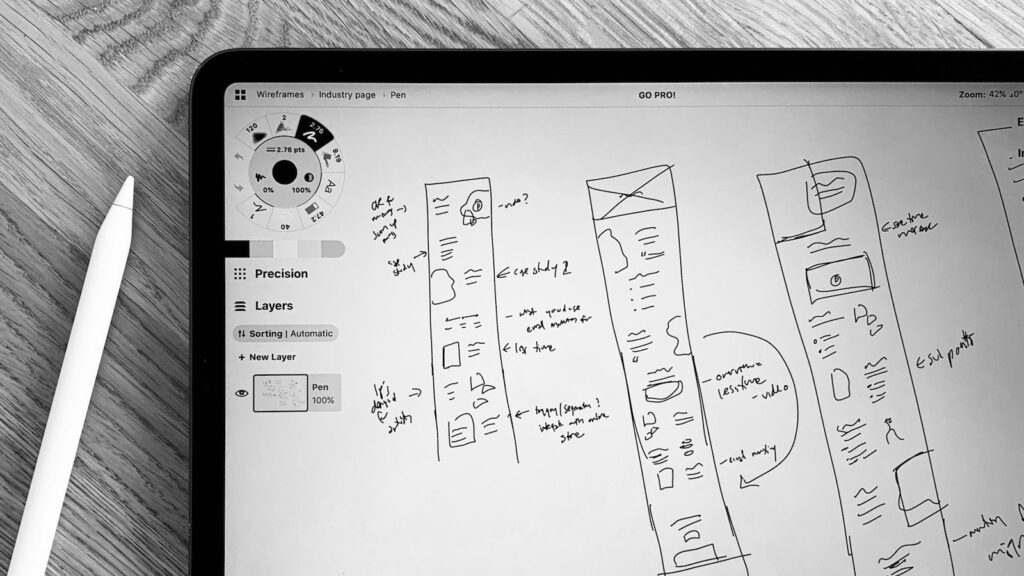 Thiết kế wireframe cho website Magento của bạn
