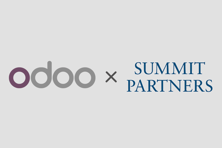 Odoo nhận khoản đầu tư 180 triệu Euro từ Summit Partners