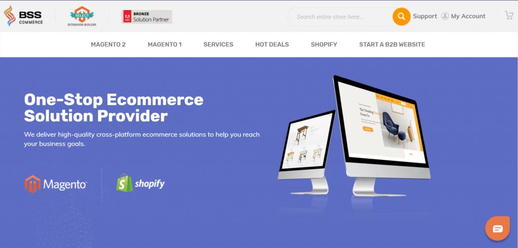 BSSCommerce Best eCommerce website development company