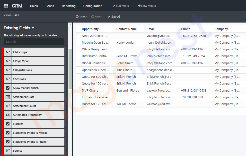 tối ưu tên hiển thị của existing fields